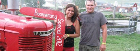 Breaking Amish Sabrina High and boyfriend Harry Kreiser III Facebook photo
