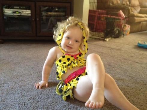 Honey Boo Boo Facebook Halloween costume contest 3rd place winner