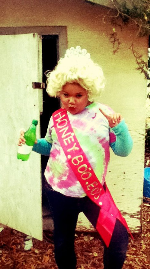 Here Comes Honey Boo Boo Halloween costume contest Jessica Chubbs' pick