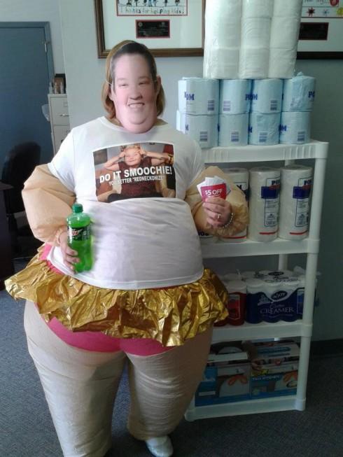 Here Comes Honey Boo Boo Halloween costume contest June's pick