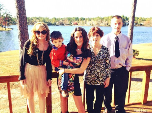 Jenelle Evans' family sister Ashleigh mother Barbara Evans son Jace and her brother