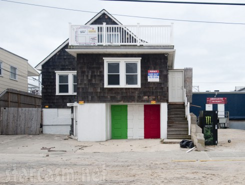 The Jersey Shore beach house after Hurricane Sandy photo