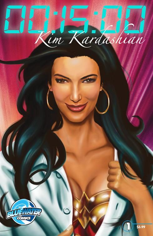 15 Minutes of Fame Kim Kardashian comic book Bluewater comics