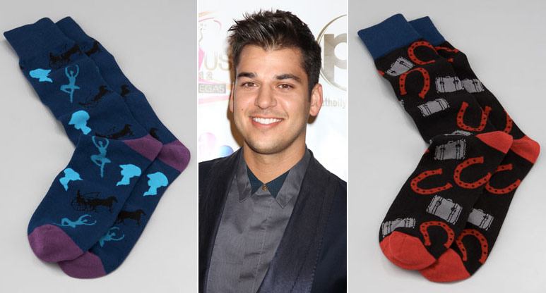 Genoeg Rob Kardashian launches high-end sock line Arthur George &IK63