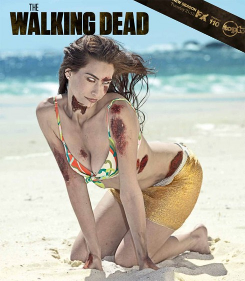 Official The Walking Dead zombie bikini swimwear calenda from South Africa
