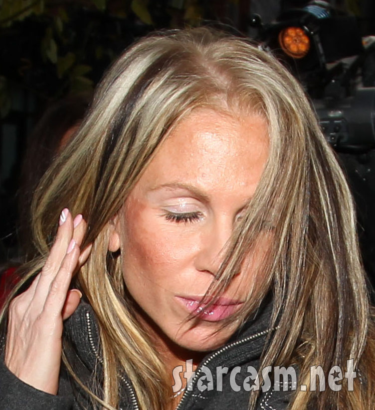 The victim of Lindsay Lohan's fight Tiffany Eve Mitchell