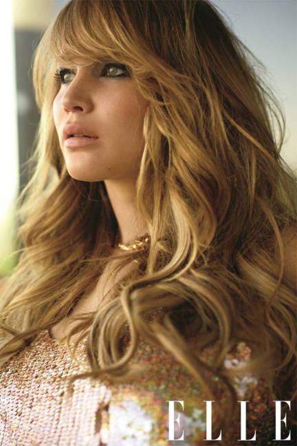 Jennifer Lawrence hair fat actress