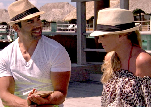 Eddie Judge proposes to Tamra Barney in Bora Bora on 'Real Housewives of Orange County'