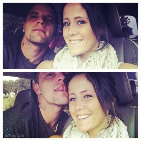 Courtland Rogers and Jenelle Evans