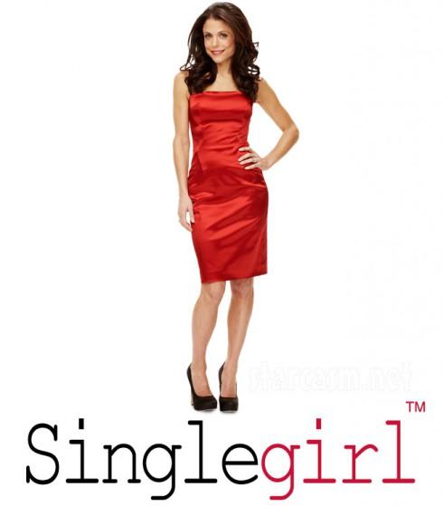 Bethenny Frankel with Skinnygirl logo changed to Singlegirl