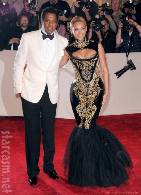 Jay-Z and Beyonce on the red carpet