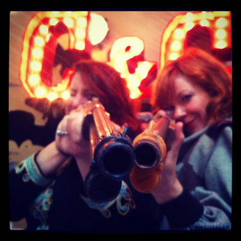 C and C Pop-Up Shop's Courtney Wagner and Candy Olsen
