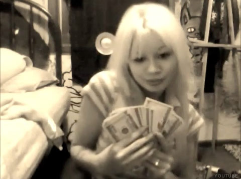 Chick bank robber Hannah Sabata arrested after police see her youtube video confession
