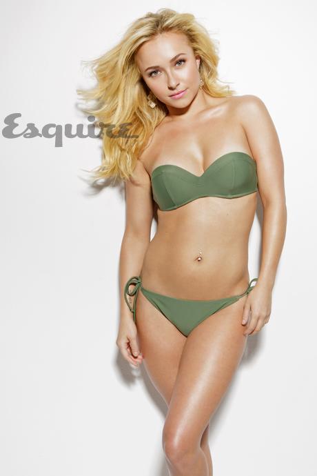 Hayden Panettiere Esquire bikini photo