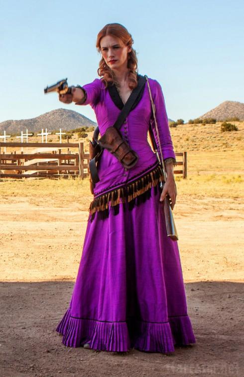 January Jones as Sarah in Sweetwater film