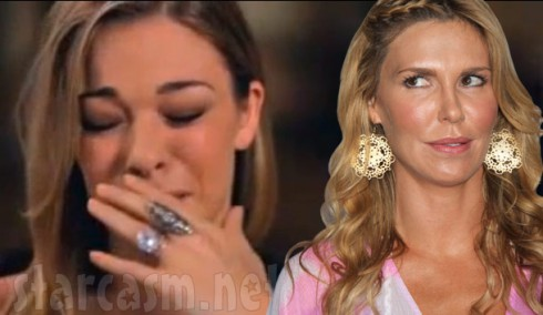 LeAnn Rimes crying Brandi Glanville rolling her eyes