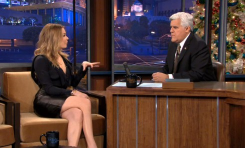 LeAnn Rimes talks about Brandi Glanville and song Borrowed on The Tonight Show With Jay Leno
