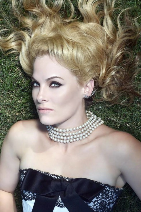 Marisa Zanuck modeling photo