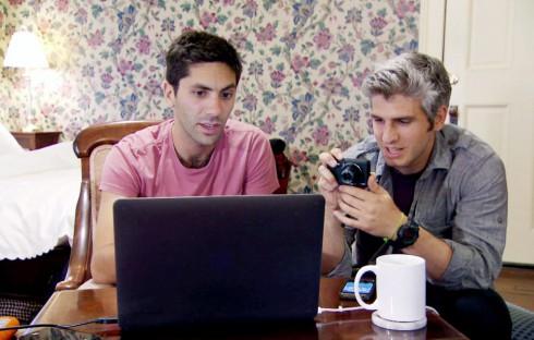 Catfish TV show Nev Schulman and friend Max Joseph