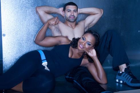 Phaedra Parks sexy photo shoot with husband Apollo Nida