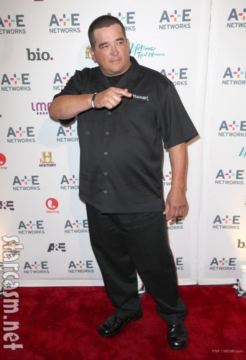 Storage Wars Dave Hester on the red carpet