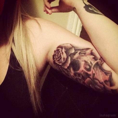 Kailyn Lowry's tattoo from Sick Ink Studios