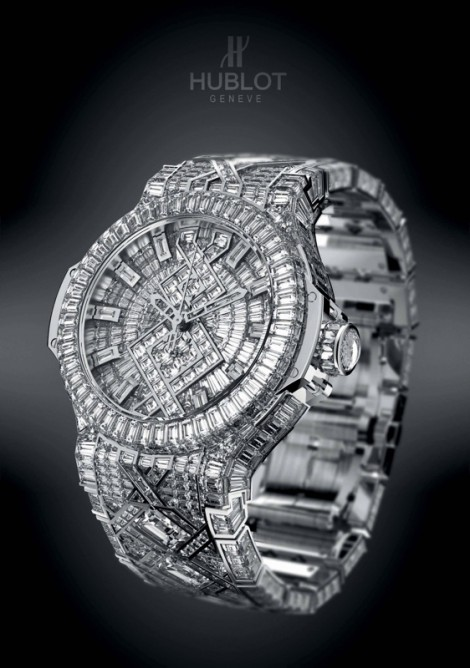 Hublot Big Bang watch allegedly given to Jay-Z by Beyonce for his birthday