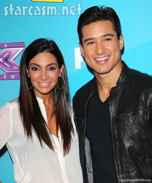 Courtney Mazzo married Mario Lopez husband and wife