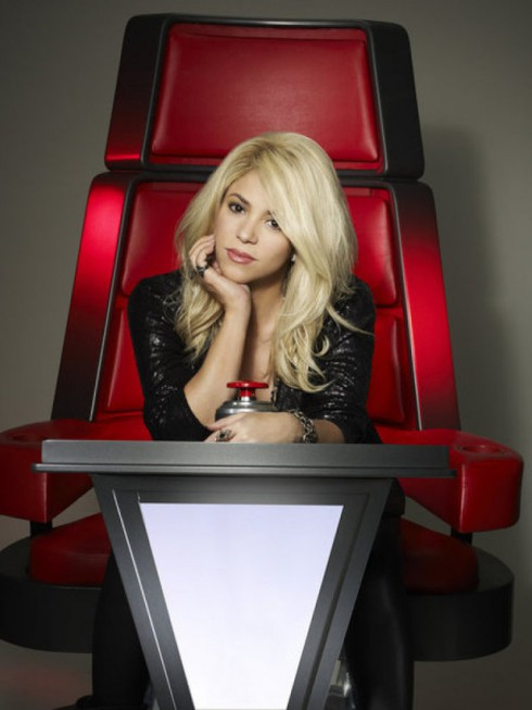 Shakira in 'The Voice' season 4 promo photo
