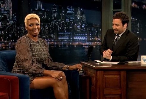 'Real Housewives of Atlanta' star NeNe Leakes announces engagement on 'Late Night With Jimmy Fallon'