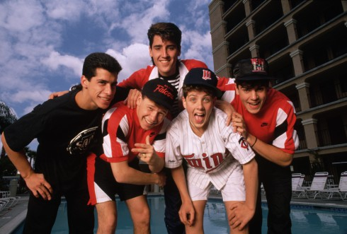 New Kids On The Block in 1989
