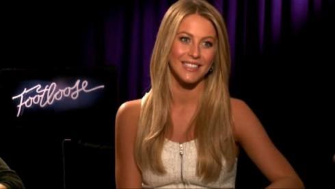 "Julianne Hough ""Footloose"" interview"