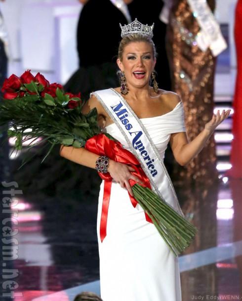 2013 Miss America Mallory Hagan crowning