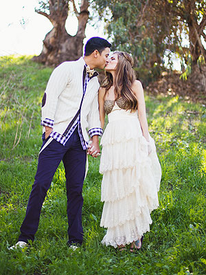 Daniele Donato and Dominic Briones of Big Brother's wedding