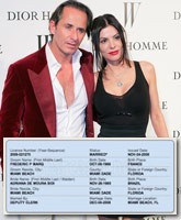 Adriana de Moura is married to Frederic Marq