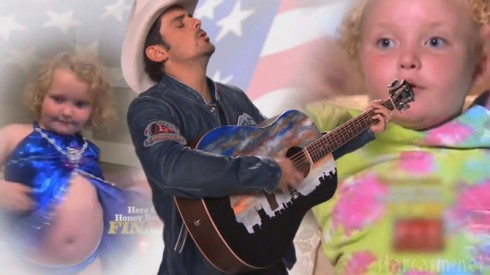 Brad Paisley Here Comes Honey Boo Boo theme song from Jimmy Kimmel Live