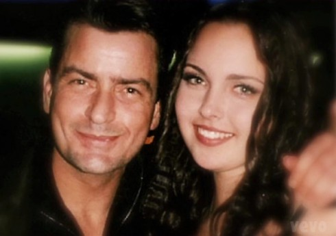 Charlie Sheen and his daughter Cassandra Estevez Huffman