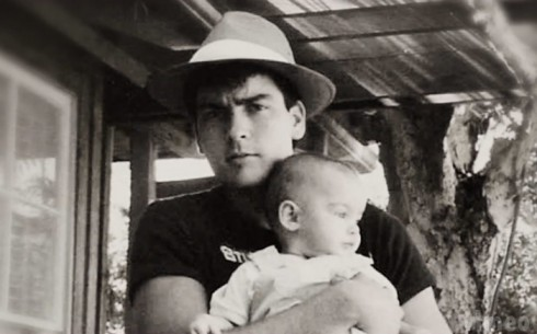 Charlie Sheen and daughter Cassandra Estevez baby photo