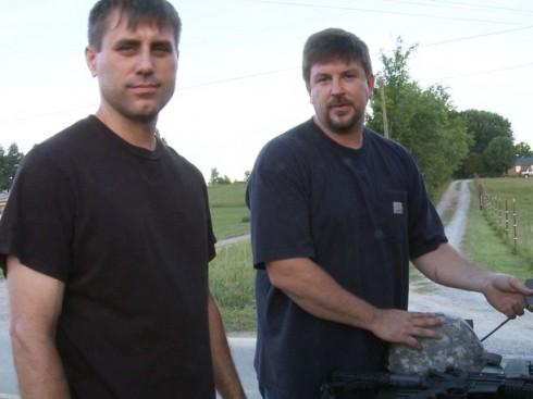 Doomsday Preppers experts Practical Preppers David Kobler and Scott Hunt