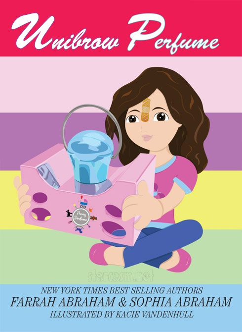 Farrah Abraham Passy Perfume parody book cover Unibrow Perfume