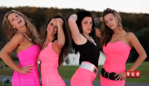 Stanly sisters from TLC's Gypsy Sisters Nettie Laura Mellie Kayla