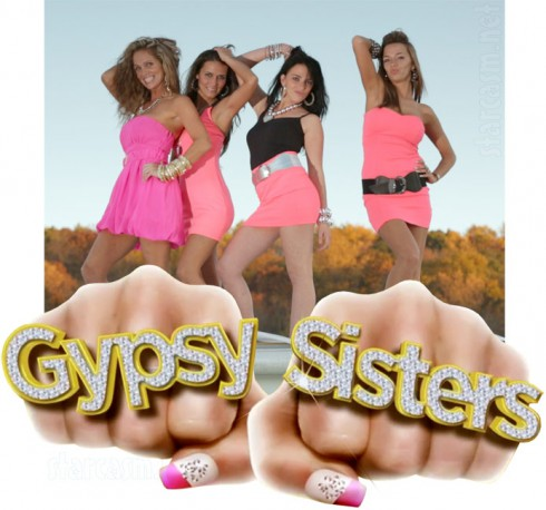 TLC Gypsy Sisters cast with logo