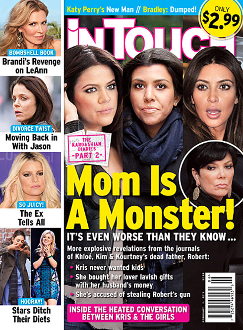 In Touch cover Robert Kardashian diary part 2
