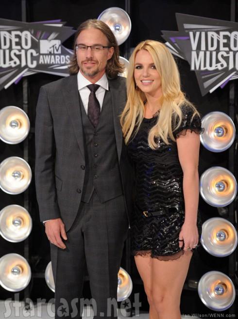 Jason Trawick and Britney Spears split up