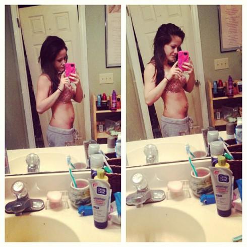 Teen Mom Jenelle Evans baby bump pregnancy photos