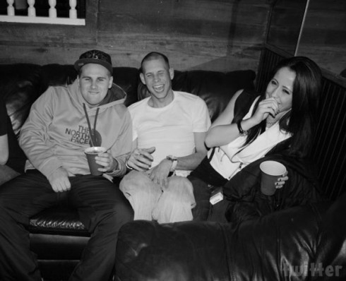 Jenelle Evans after her miscarriage partying at a club with Gary Head