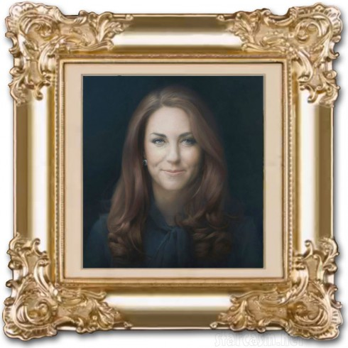 Official Kate Middleton royal portrait painting