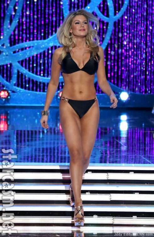 2013 Miss America Mallory Hagan bikini photo