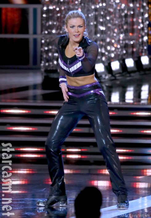2013 Miss America Mallory Hagan tap dancing during the talent portion of the pageant