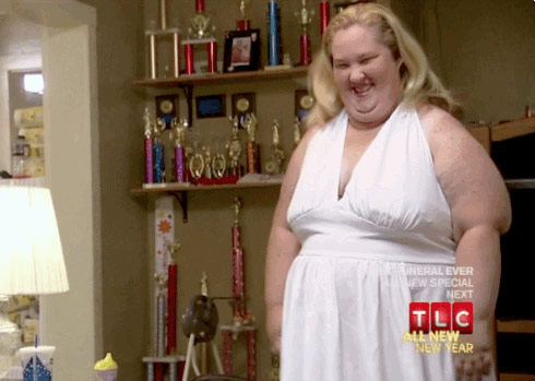 Honey Boo Boo's Mama June as Marilyn Monroe in Halloween special